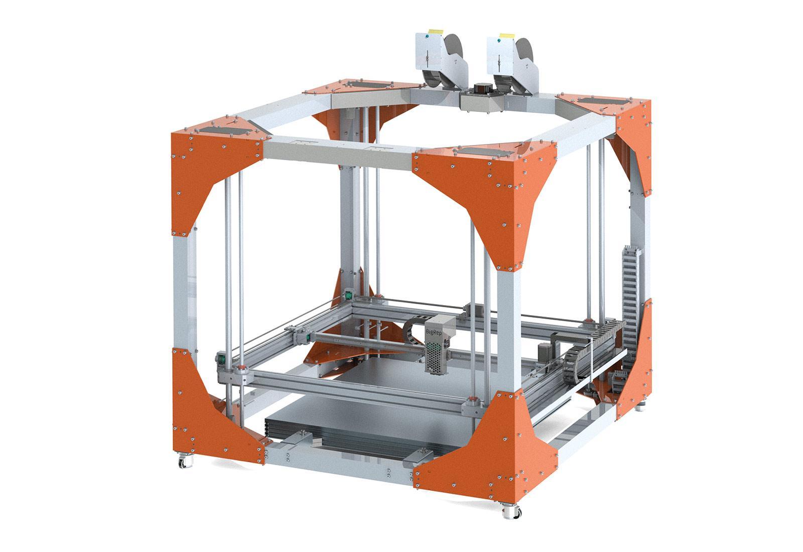 ビッグレップがボッシュの系列企業と提携、CNCコントローラー付き3Dプリンターを開発へ