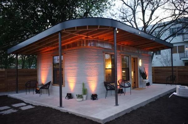 テキサスの建設会社が24時間で3Dプリント住宅を建設
