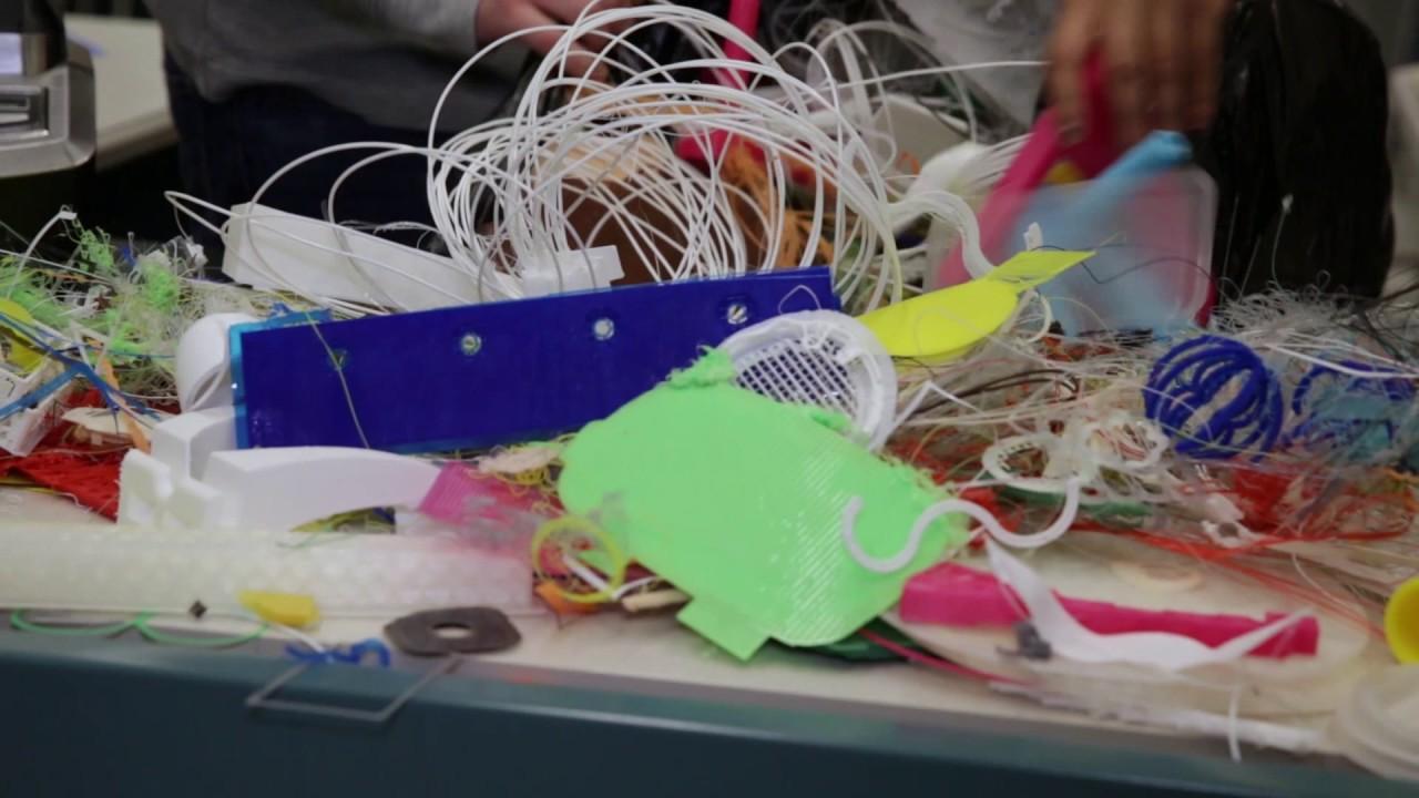 プリントユアマインド3DがPLA廃材を使ったリサイクルコンテストを実施