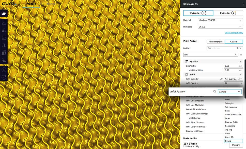ウルチメーカーがCuraバージョン3.6をリリース