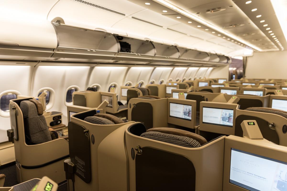 エティハド航空がEOSと航空機整備のMRO契約を締結