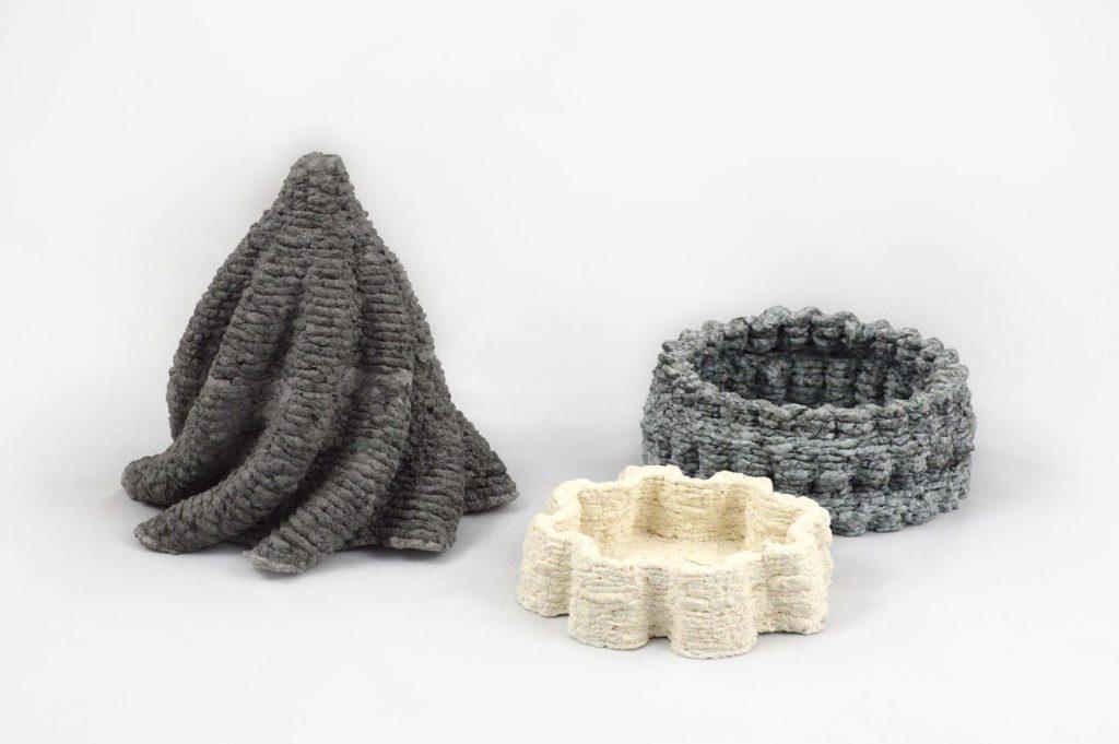 オランダのプロダクトデザイナーが紙パルプ3Dプリンターを開発
