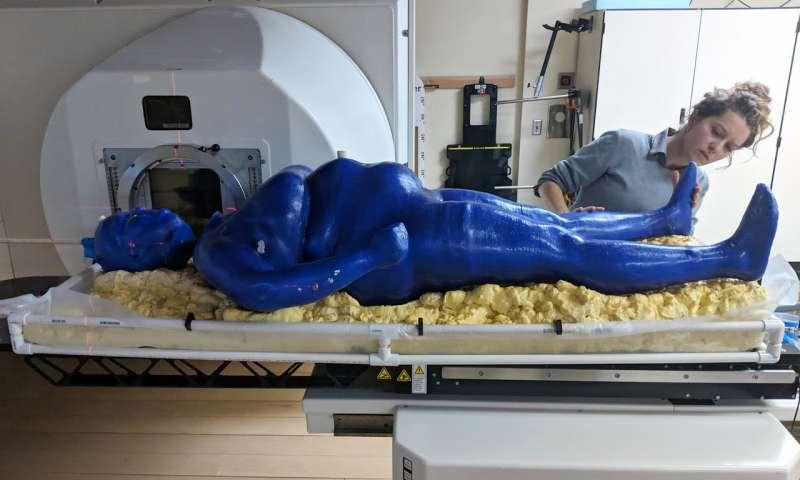 ルイジアナ州立大学の学生が3Dプリンターでヒトの等身大医療用ファントムを製造