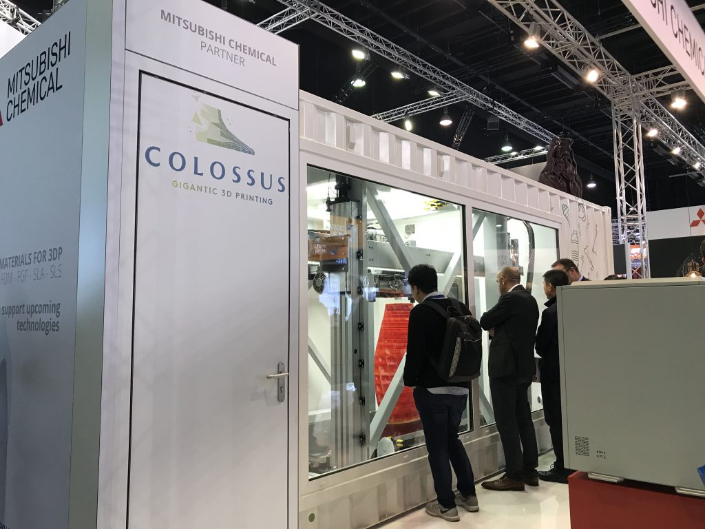 ベルギーのスタートアップ企業が大型リサイクル3Dプリンターを開発