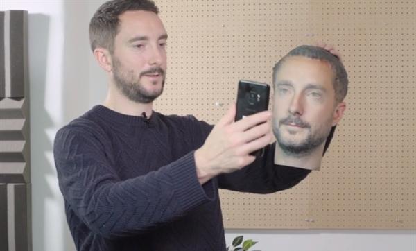 フォーブスの記者が3Dプリンターでスマートフォンの顔認証システムを突破