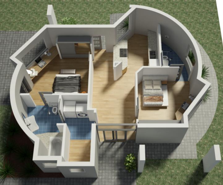 アメリカの建設会社がテキサスで3Dプリント住宅を建設