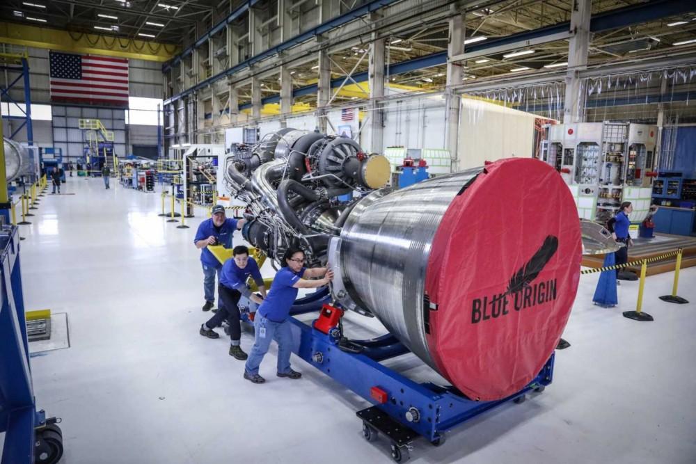 ブルーオリジンがロケットエンジン工場建設に2億ドル投資
