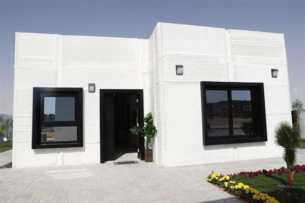 オランダのCybe建設がサウジアラビア初の3Dプリント住宅を二日で建設