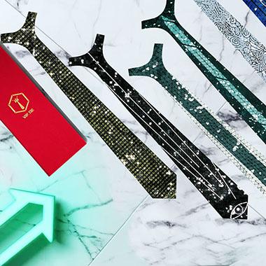 イタリアのファッションブランドが3Dプリント・ネクタイの販売を開始