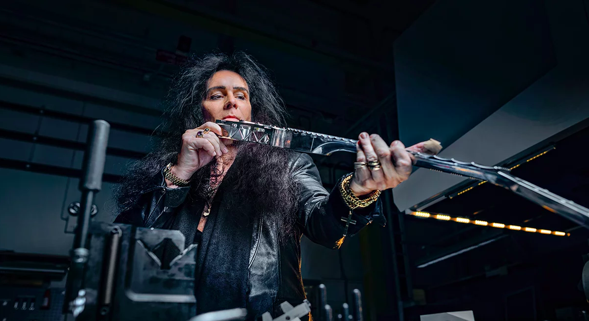 スウェーデンのエンジニアリング企業が世界初の3Dプリント・エレキギターを開発