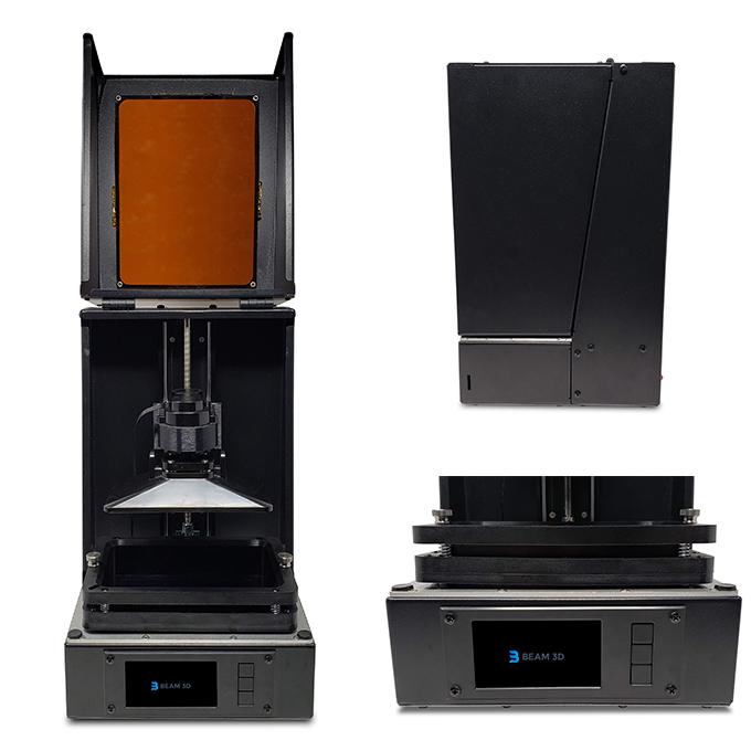 ビーム3Dが価格249ドルの樹脂3Dプリンターのキックスターターキャンペーンを開始