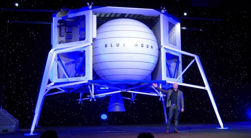 ブルーオリジンが月着陸船のモデルを公表
