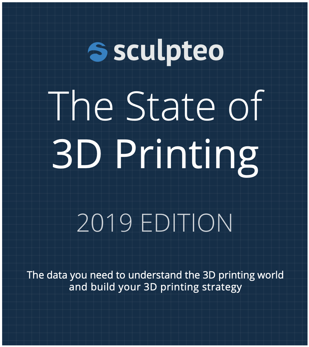 スカルプティオが2019年度版「ステート・オブ・3Dプリンティング」レポートを発行