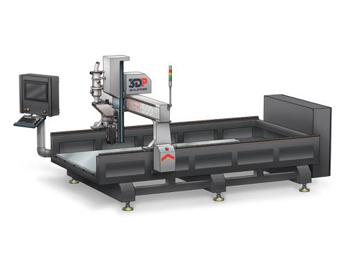 3Dプラットフォームが大型3Dプリンター「ワークセンター500」をリリース
