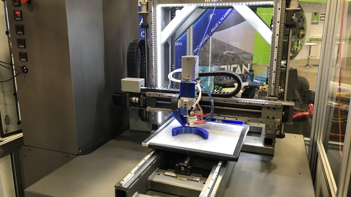 タイタン・ロボティクスが大型ペレット3Dプリンターをリリース