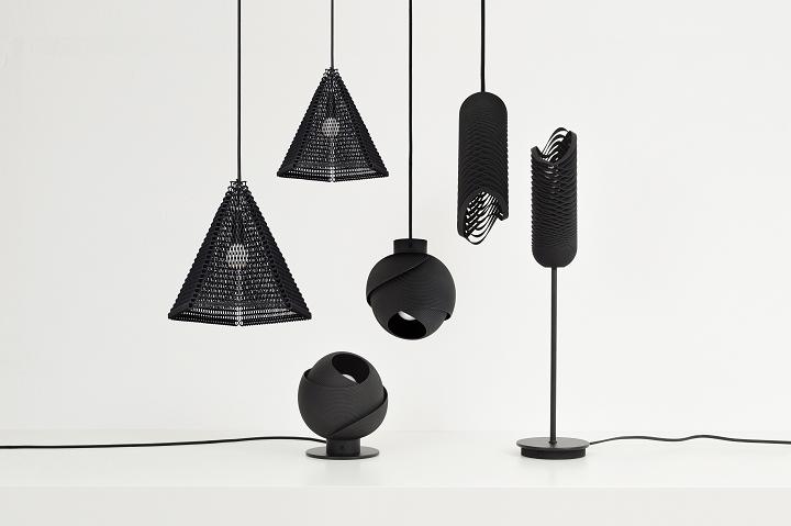 オランダのデザインレーベルが3Dプリント・ライトのコレクションをリリース