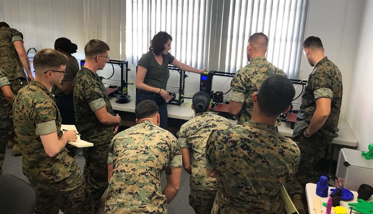 アメリカ海兵隊特殊作戦コマンドが兵士向け3Dプリンティング講座の提供を開始