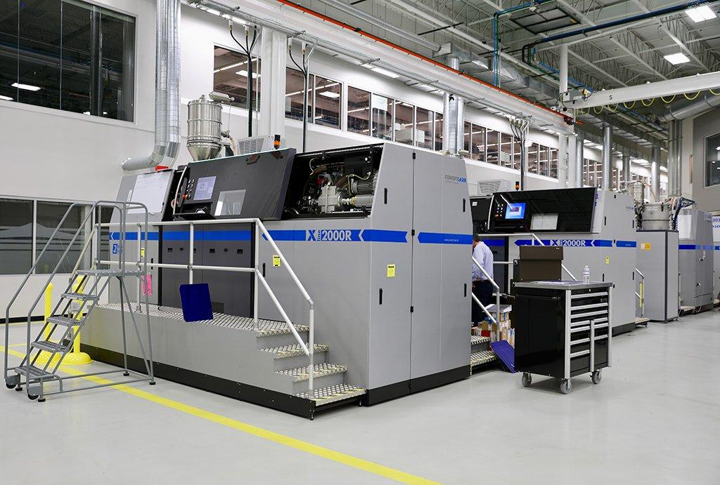 GEアディティブがコンセプトレーザーMライン・ファクトリーシステムの納入を開始