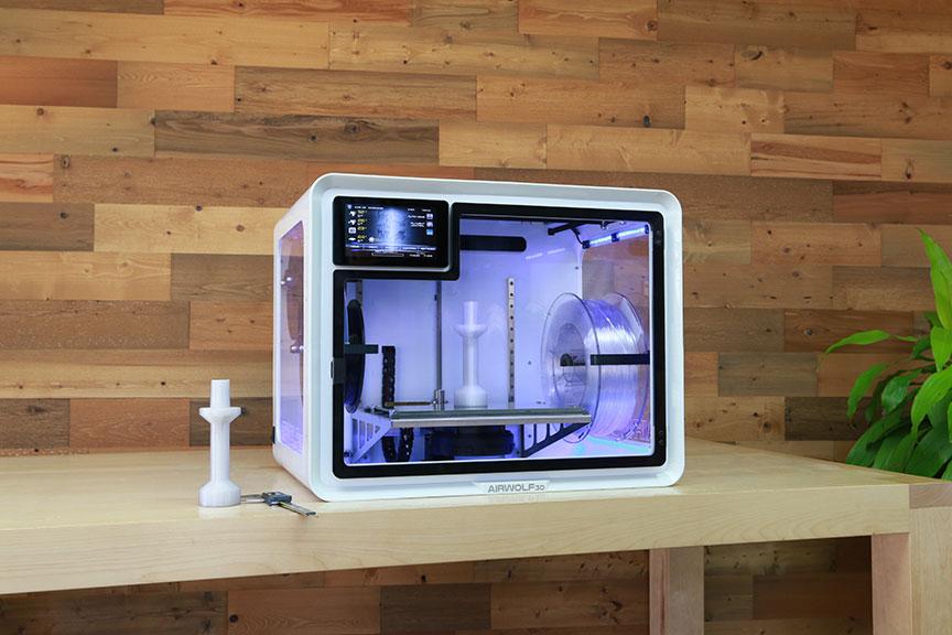 エアウルフ3Dが新型3Dプリンター「エアウルフEVO R」をリリース