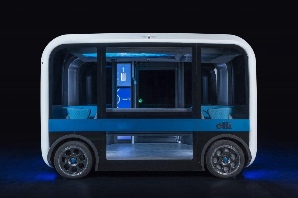 ローカルモーターズが新型の小型無人3DプリントバスOlli2.0をリリース