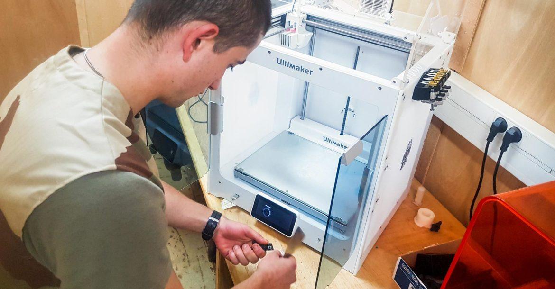 フランス軍が3Dプリンターを消耗部品の製造に活用