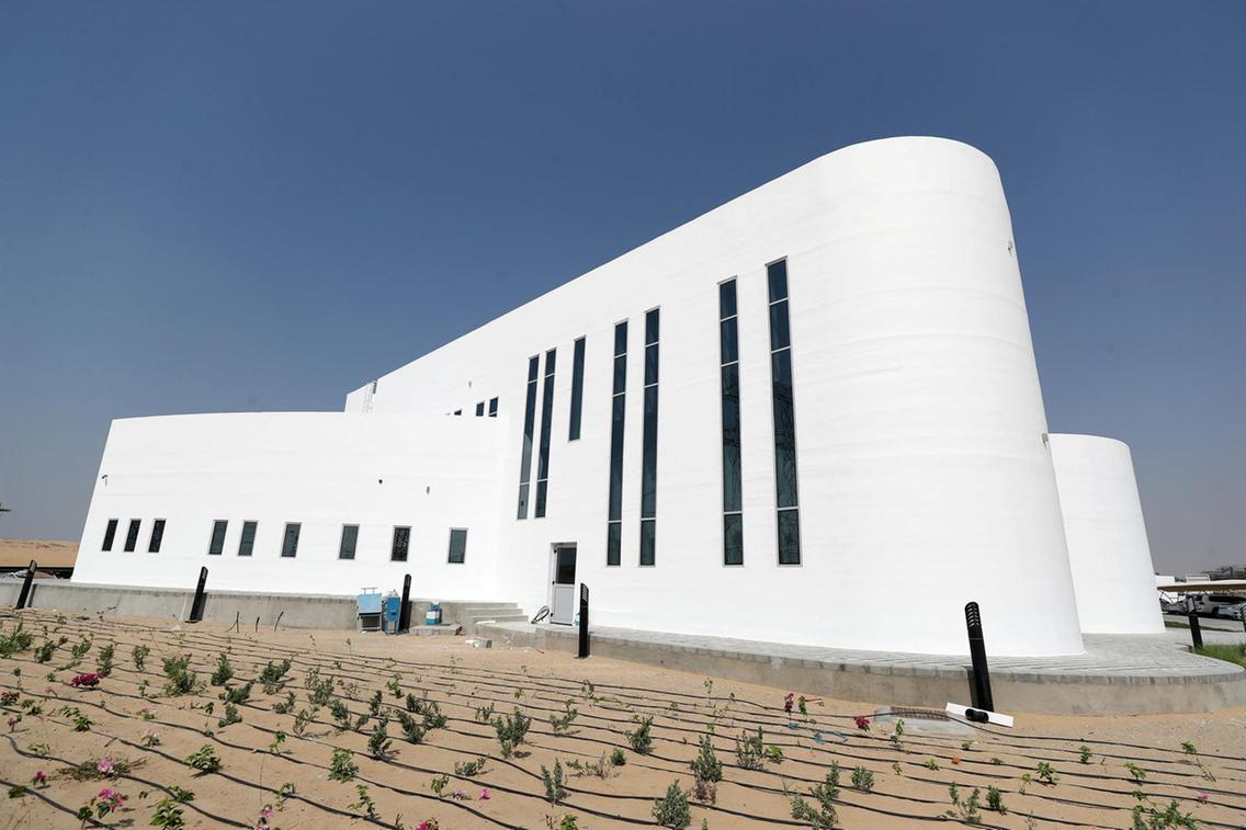 ドバイに世界最大の3Dプリント建築物が登場
