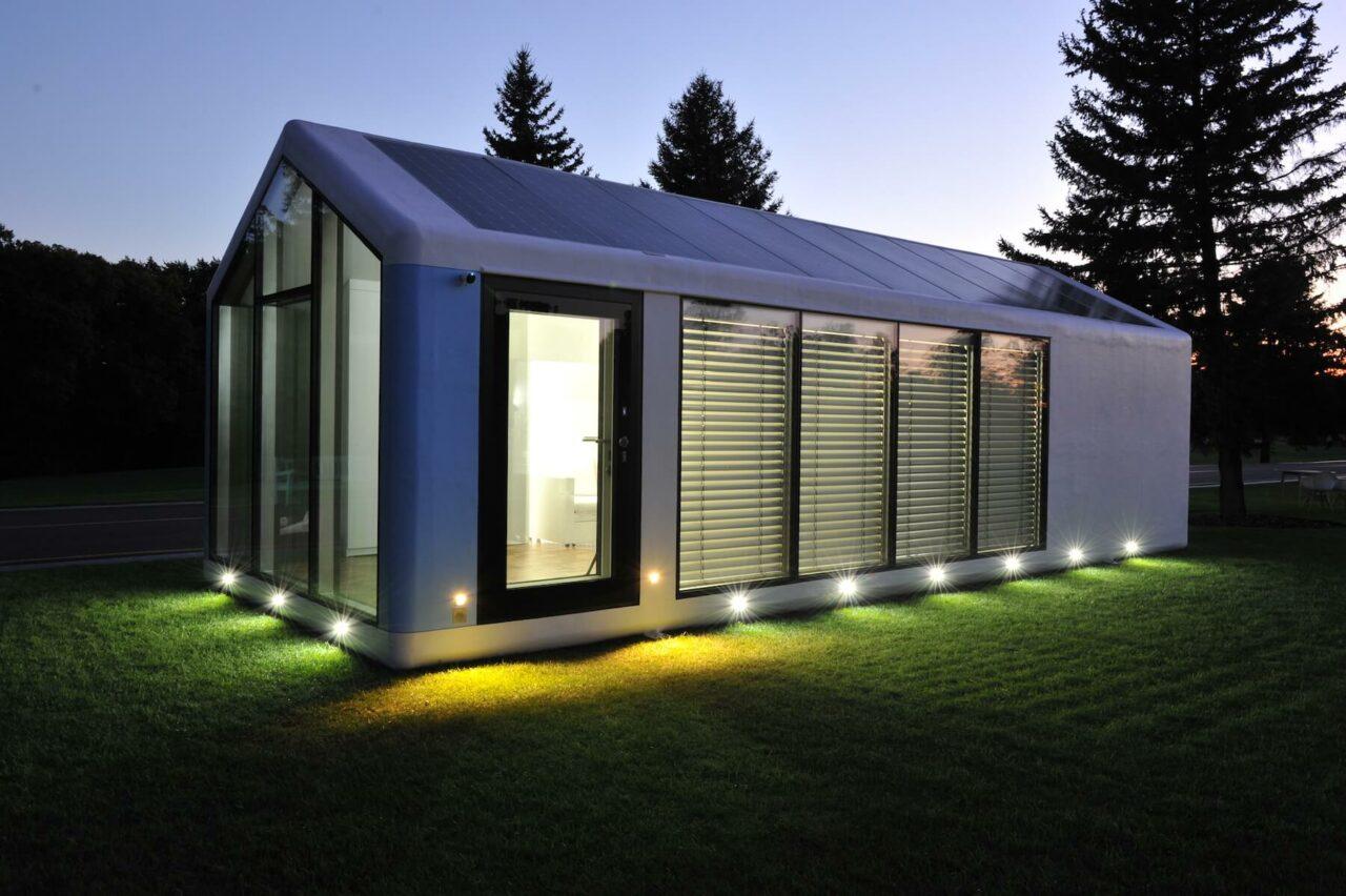 アメリカのスタートアップ企業がオフザグリッド3Dプリント・プレハブ住宅をリリース