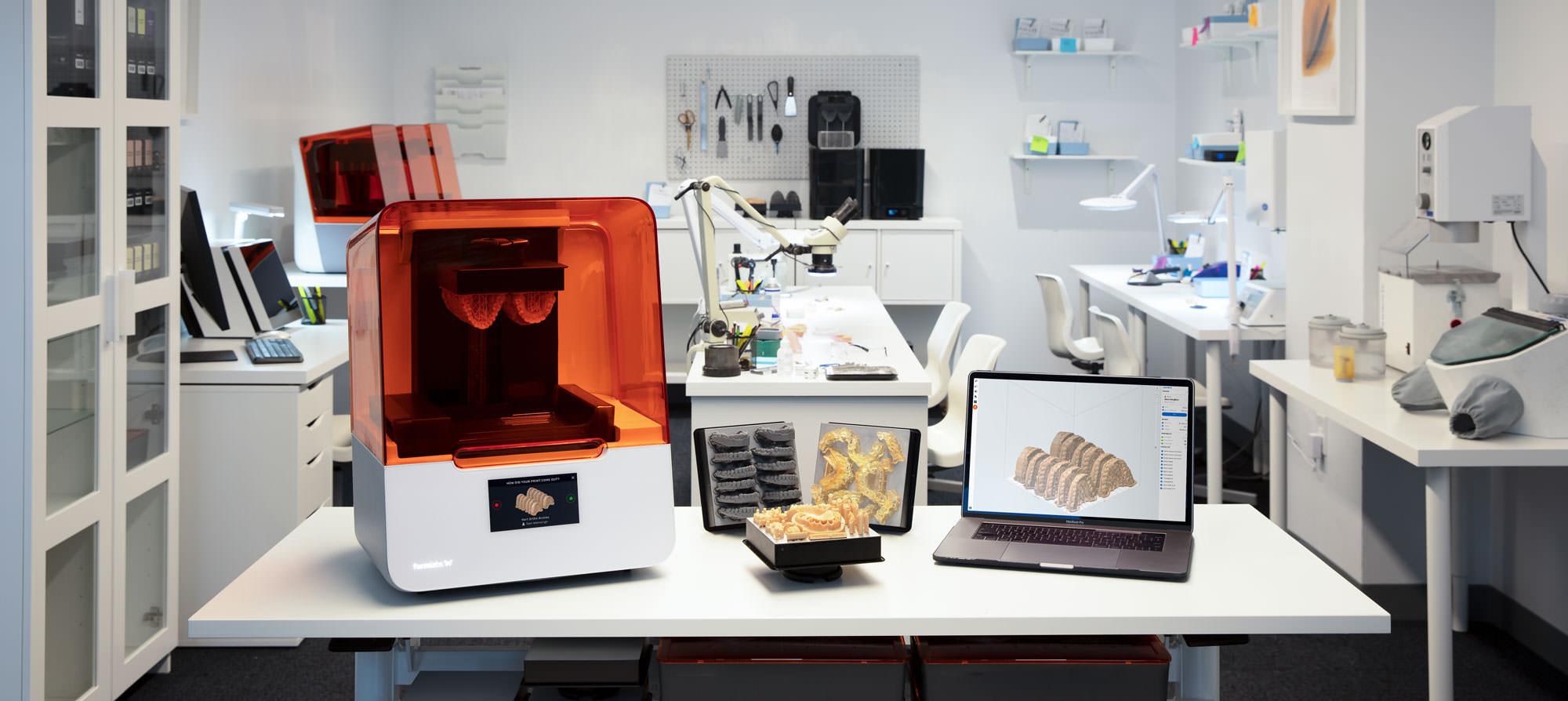 フォームラブズが歯科用3Dプリンター「フォームラブズ・デンタル」をリリース