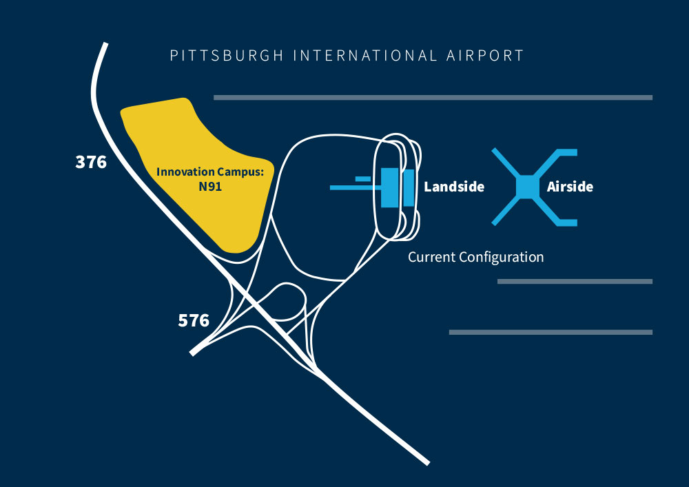 ピッツバーグ国際空港とピッツバーグ大学がアディティブ・マニュファクチャリング・ハブを建設