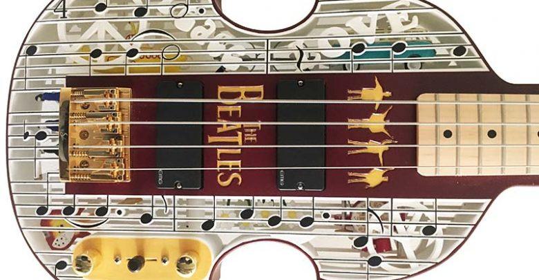 ウォーラーズ・アソシエイツのコンサルタントがビートルズモデルのベースギターを3Dプリンターで製造