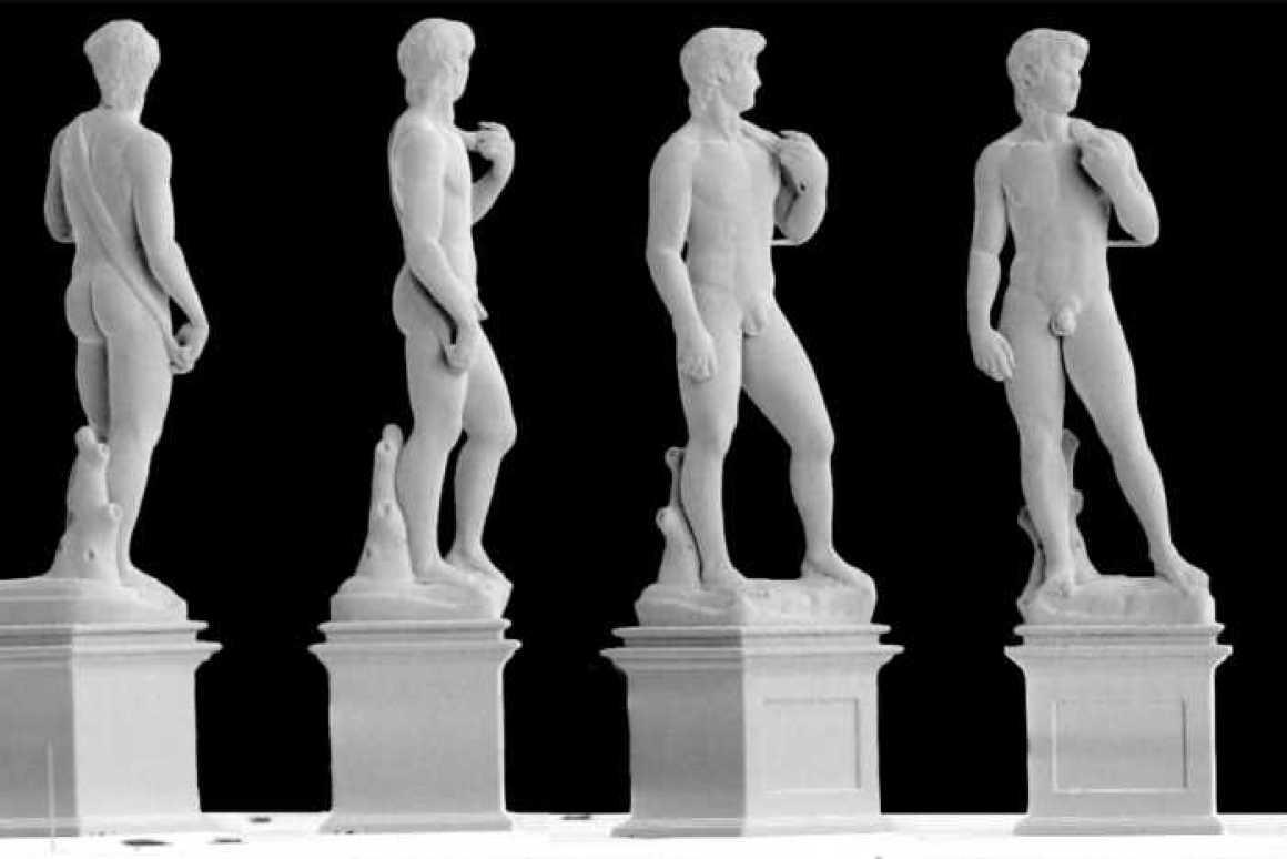 スイス連邦工科大学チューリッヒ校の研究チームが高さ0.1ミリメートルのダビデ像を3Dプリンターで製造