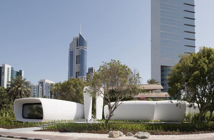 ドバイに世界初の3Dプリント・コマーシャルビルディングが登場