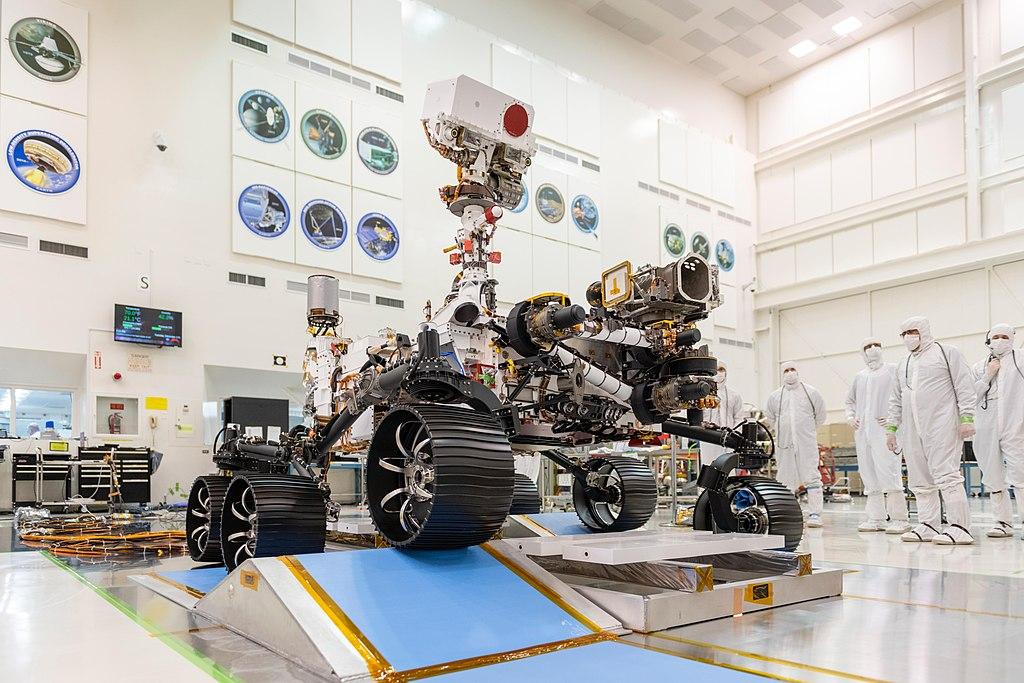 NASAが新型火星探査ローバー「パーサヴィアランス」のミニチュア3Dモデルを公開