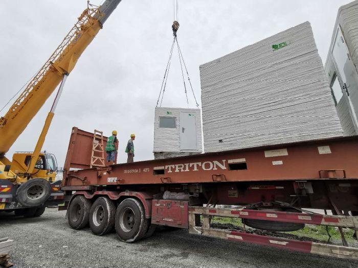 中国の3Dプリント建設企業がコロナウィルス用3Dプリント隔離施設をパキスタンへ輸出