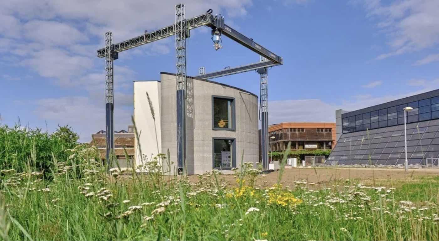 ベルギーの建設企業がヨーロッパ最大の3Dプリント住宅を建設