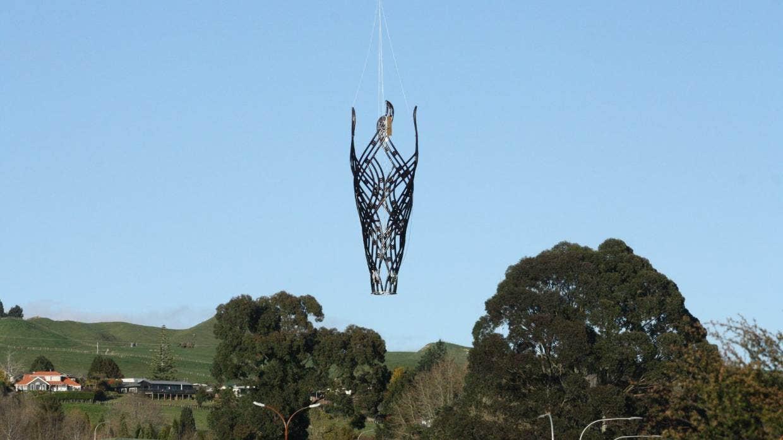 ニュージーランドに高さ12メートルの3Dプリント彫像が登場