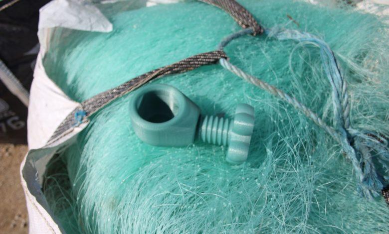 英国シュロップシャーのスタートアップ企業が漁網リサイクル3Dプリンターフィラメントの販売開始