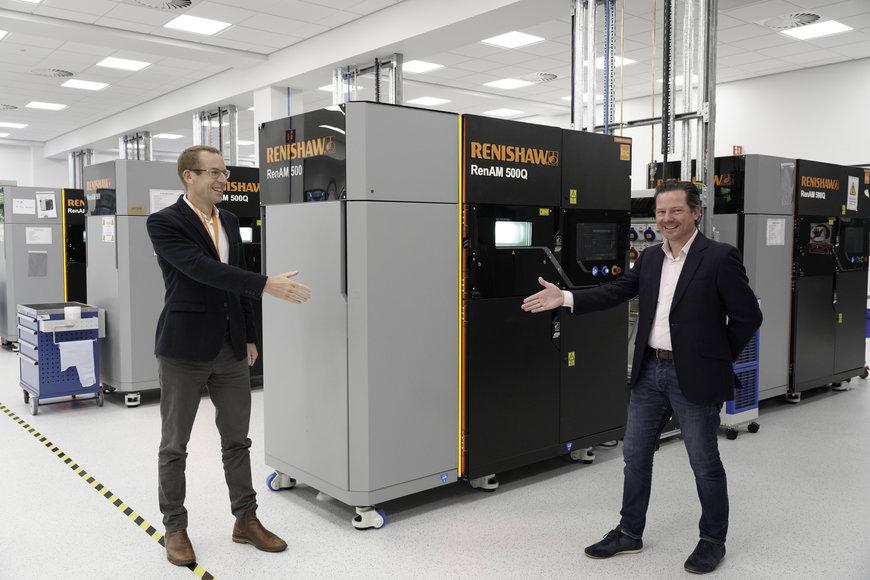 イギリスの3Dプリンティング・サービスビューローがレニショーのメタル3Dプリンターを導入