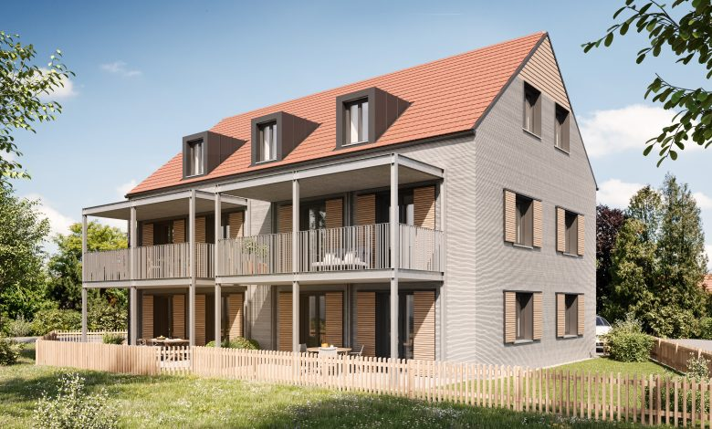 COBODがドイツで3階建アパートを3Dプリンターで建設