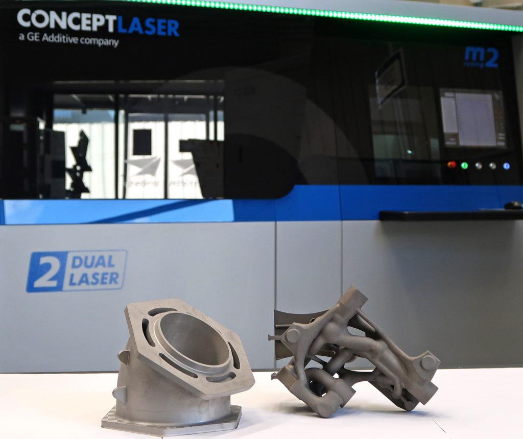 エアバスがGEアディティブのコンセプトレーザーM2システムを導入