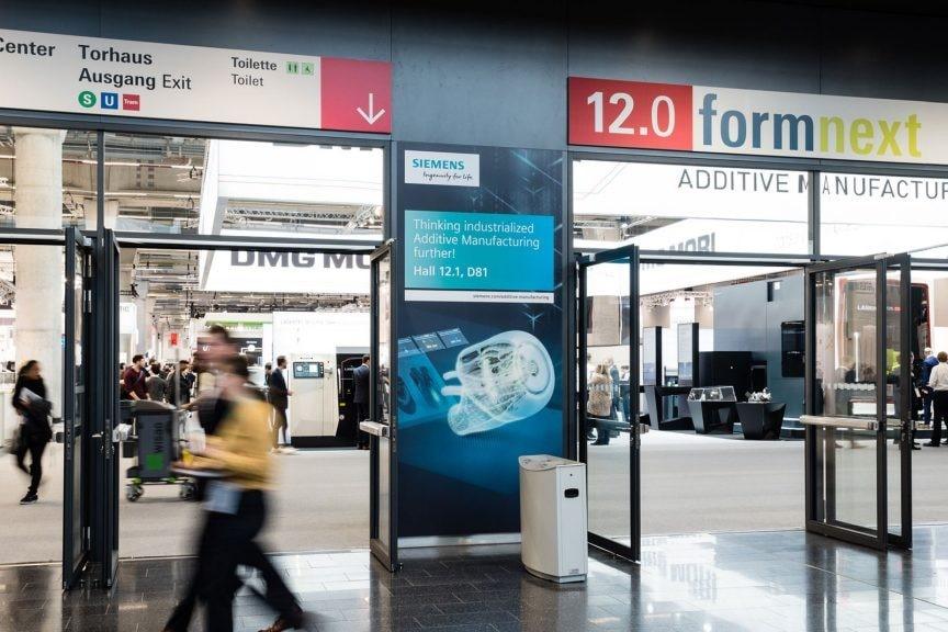 Formnextコネクトが予定通り11月10日から12日まで開催