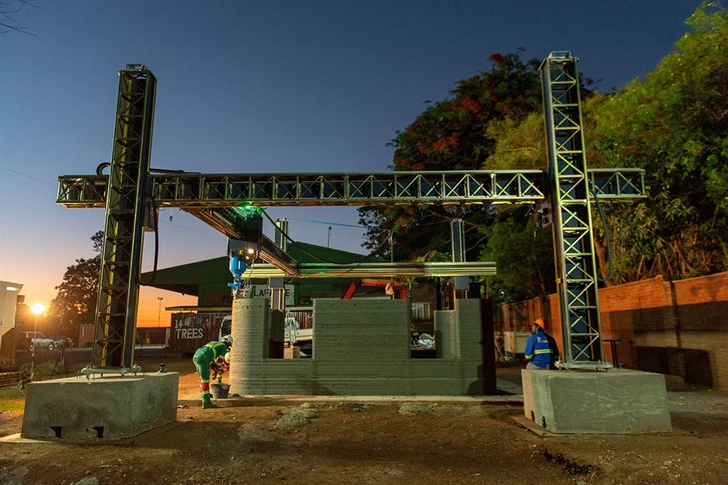 マラウイ共和国にアフリカ初の3Dプリント住宅が建設