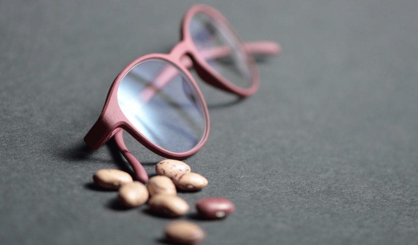 オーストリアのメガネ工房がトウゴマの実を原料に3Dプリントメガネを製造