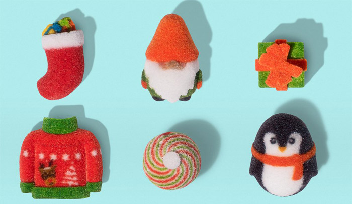 シュガーラブが3Dプリンターでクリスマス用ギフトセットを製造