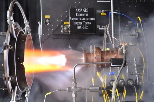 NASAが3Dプリントロケットエンジンの燃焼試験に成功