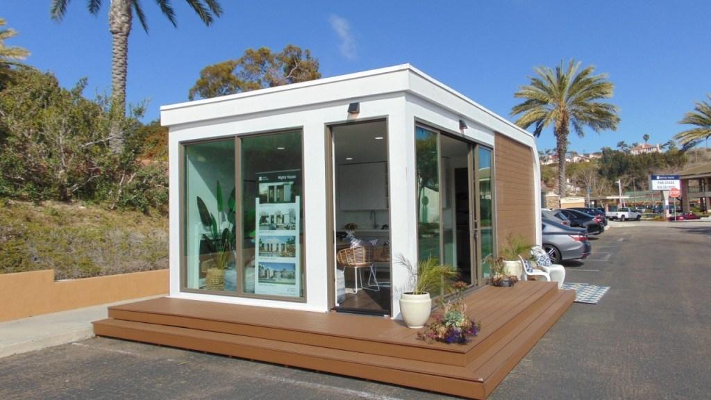 マイティ・ビルディングズがサンディエゴに小型3Dプリント住宅を建設