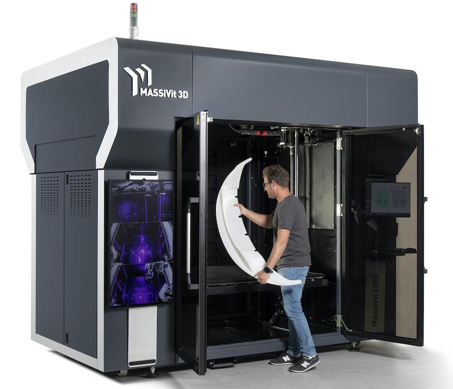 Massivit 3Dが大型3Dプリンター「Massivit 5000ウルトラ」をリリース