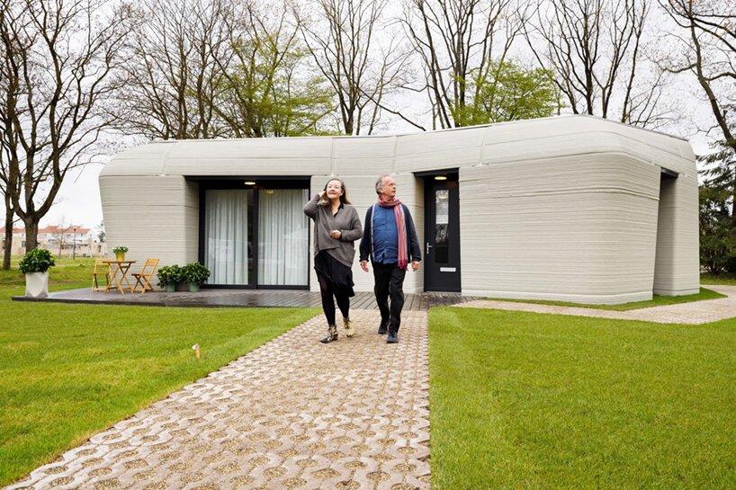 オランダのアイントホーフェンで3Dプリント住宅への入居が開始