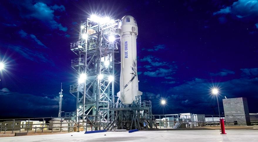 ブルーオリジンが7月20日に商用宇宙旅行ロケットを打上げ