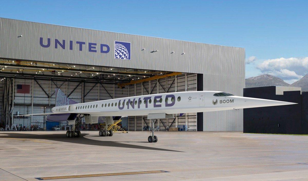ユナイテッド航空がブーム・スーパーソニックの超音速旅客機を購入へ